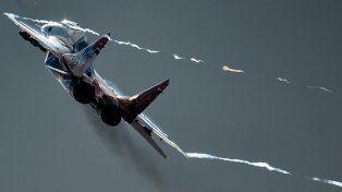 Increíble video en 360º desde un MIG-29