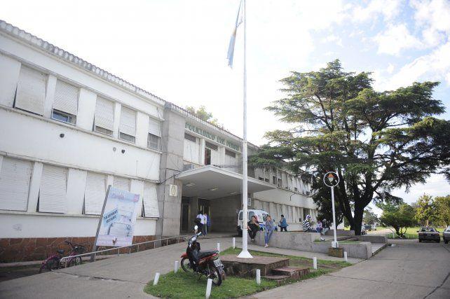 La nena fue atendida en el hospital Eva Perón