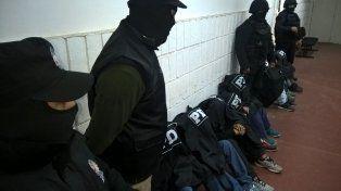 La PDI detuvo a doce personas en una serie de allanamientos realizados en la zona noroeste