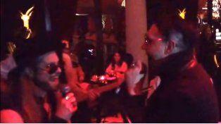 Marilyn Manson sorprendió a todos al compartir escenario con Tripa de Mambrú