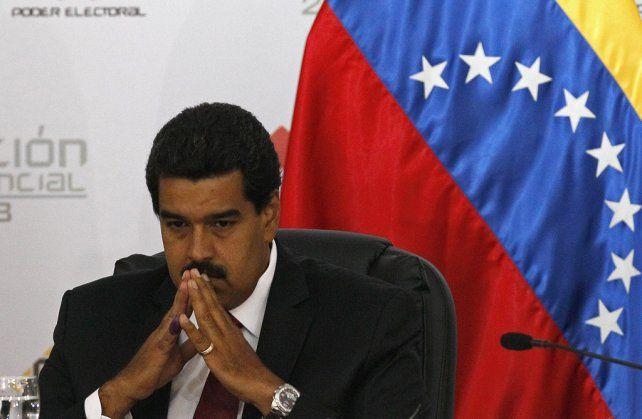 En capilla. El presidente Maduro ha quedado aún más aislado en la región y el hemisferio.