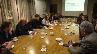 Evaluación. La intendenta Mónica Fein presidió ayer un encuentro de evaluación de las medidas de seguridad junto a fiscales