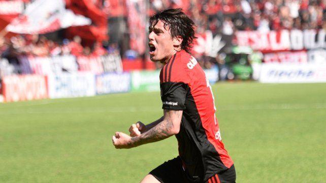 Formica marcó el 1-0 ante Tigre. Antes Pocrnjic atajó un penal.