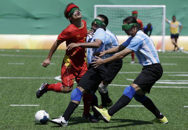 Para seguir en carrera. Los argentinos están cumpliendo una buena actuación.
