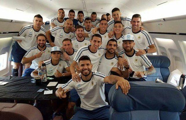 Para ahorrar energías. Los futbolistas europeos elegidos por Bauza se prepararán para el partido en tierras peruanas.