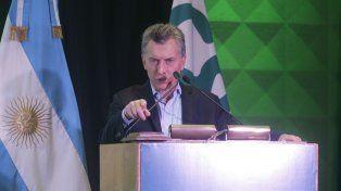 Macri dijo que todos los días el gobierno trabaja para combatir el delito y la inseguridad.