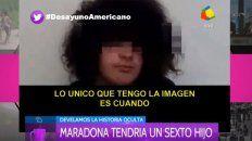 hablo santiago lara, el chico de 15 anos que asegura ser el sexto hijo de diego maradona