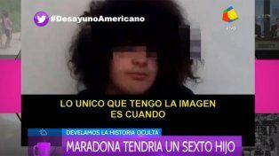 Habló Santiago Lara, el chico de 15 años que asegura ser el sexto hijo de Diego Maradona