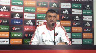 Osella destacó el trabajo defensivo de Newells y el retorno de Diego Mateo a la titularidad.