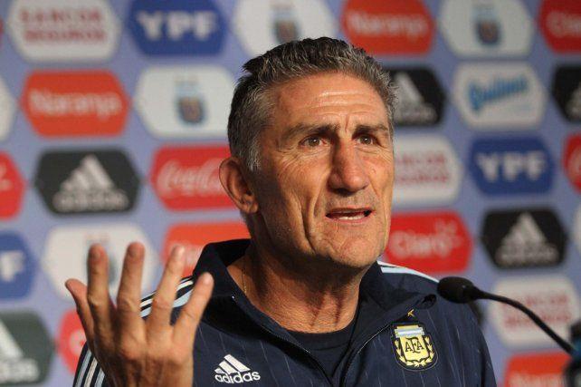 El director técnico de la selección
