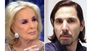 """Mirtha Legrand y Javier Bazterrica. Las """"estrellas"""" mediáticas que lograron una gran atracción del público."""