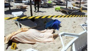 Horror. Mientras tomaban sol en una playa de Túnez