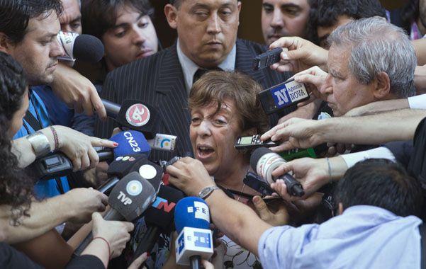 En la mira. La jueza Arroyo Salgado reprueba el trabajo de la fiscal Fein (foto) y recurrirá al órgano máximo de revisión penal para apartarla de la investigación.
