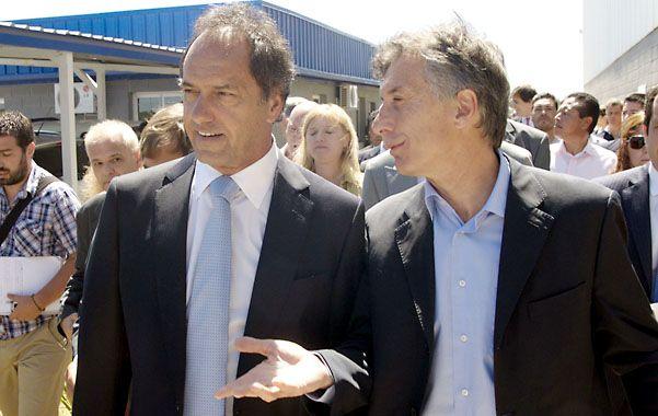 Candidatos. Scioli mira de reojo a Randazzo y Macri cree que irá a la segunda vuelta con el gobernador bonaerense.