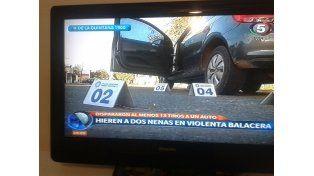 brutal. El 21 de abril acribillaron el auto de Diego Cuello