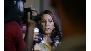 La derrota en Rosario. Mónica Fein perdió en todas las seccionales de la ciudad.