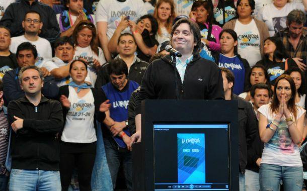 El desafío de máximo. El hijo de Cristina cree desde siempre que ella ha sido proscripta como candidata a un tercer mandato y ahora lo planteó públicamente.