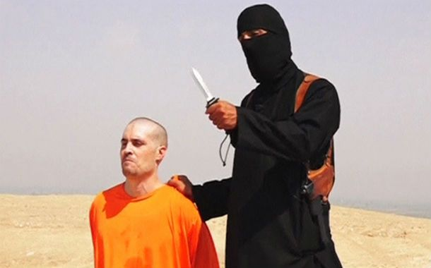 Barbarie en vivo. James Foley y su verdugo. Una terrible imagen
