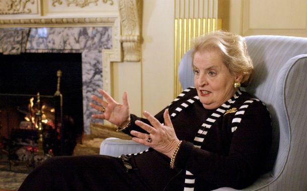 Madeleine Albright. La ex funcionaria norteamericana calificó con dureza al actual panorama político mundial.