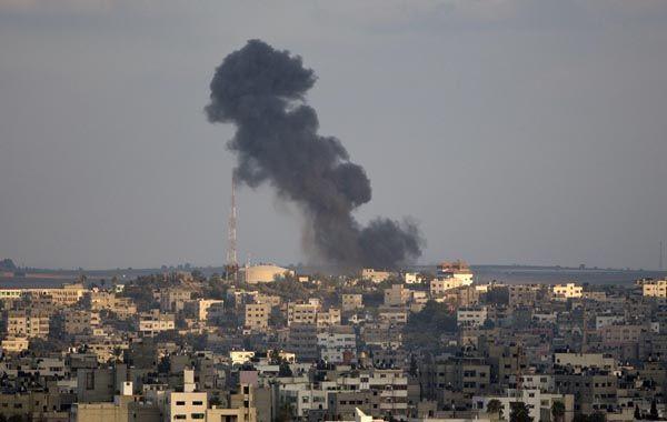 Gaza. Una imagen tras un bombardeo. Un escenario similar