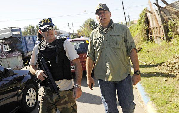 """El mentor. """"Sergio Berni (derecha) es el padre de este desembarco en Rosario"""