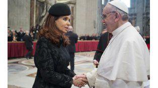 Encuentro que se repite. Cristina y Francisco y una cumbre que tendrá repercusiones en la política argentina.