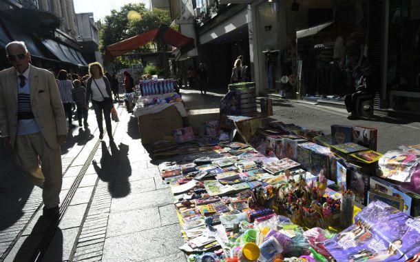 Para Came en Rosario no crece la venta ilegal. El jueves la ciudad fue una feria. (Foto: V. Benedetto)