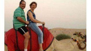 Los Alperovich de vacaciones en Dubai. Rojkés fue reemplazada por Zamora en un puesto clave en el Senado.