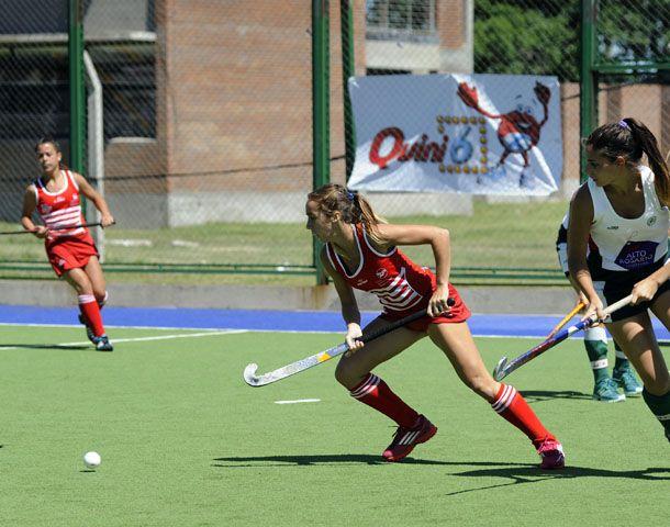 El domingo se jugó en Rosario la final de la Liga Nacional de hockey femenino entre Jockey y Provincial. (Foto: V. Benedetto)