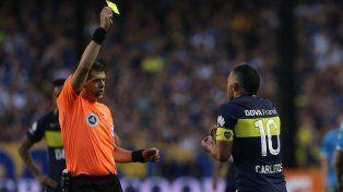 Tevez fue suspendido por tres fechas por la expulsión frente a Belgrano