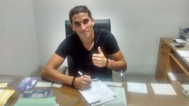 Gissi firmó el vinculo con Central.
