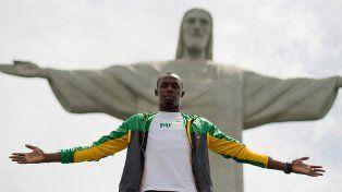Usain Bolt en Río de Janeiro. Casi un dios.
