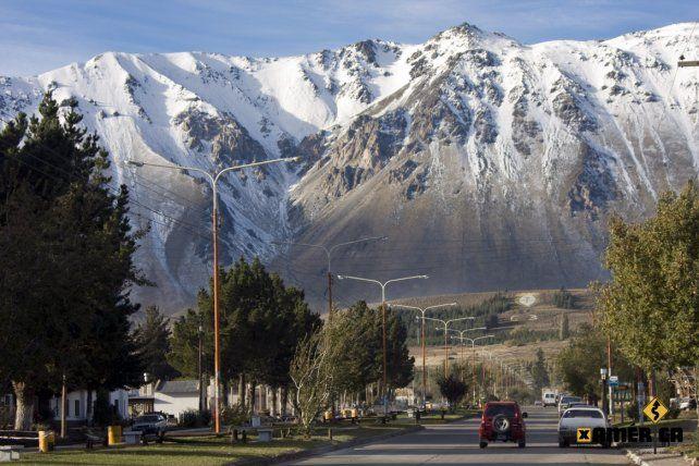 Estilo alpino. Con el imponente telón de fondo de la cordillera de los Andes