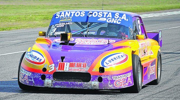 TC 4000 del Sur. Fabián Svegliati corrió para el campeonato en el Eusebio Marcilla. Ganó y estiró su ventaja en el liderazgo.