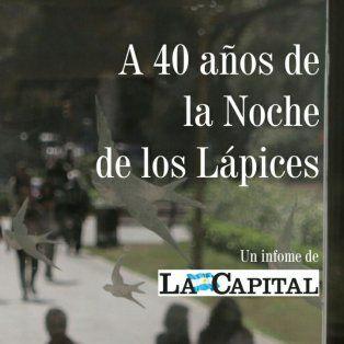 un informe multimedia de la capital para no olvidar la larga noche de los lapices en rosario