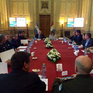 finalizo la reunion enre bullrich y lifschitz para definir el desembarco de las fuerzas federales