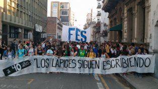 A 40 años de La noche de los lápices, movilización y recuerdo en Rosario