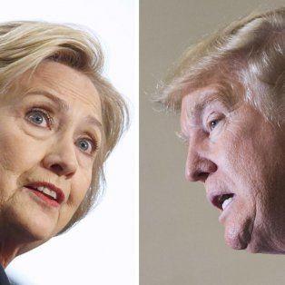 ¿Cuál de los dos? Hillary Clinton y Donald Trump entrarán muy pronto en el último tramo de la campaña electoral.