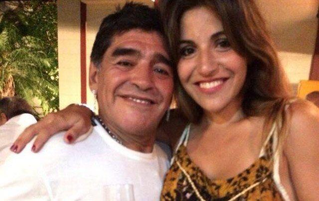 La reacción de Gianinna Maradona tras la aparición del supuesto sexto hijo de Diego