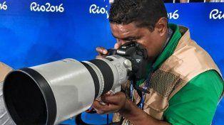 El fotógrafo ciego que logró cumplir su sueño en los Juegos Paralímpicos