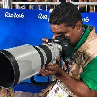 el fotografo ciego que logro cumplir su sueno en los juegos paralimpicos