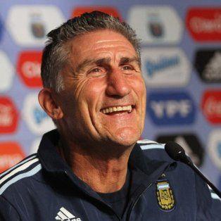 Conforme. Bauza está tranquilo con los puntos sacados en sus primeros dos partidos al frente de la selección nacional.