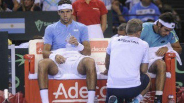 Del Potro y Mayer perdieron el tercer set y caen 2-1 ante los hermanos Murray en el dobles