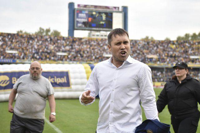 El Chacho se molestó por una crítica de un periodista del diario.