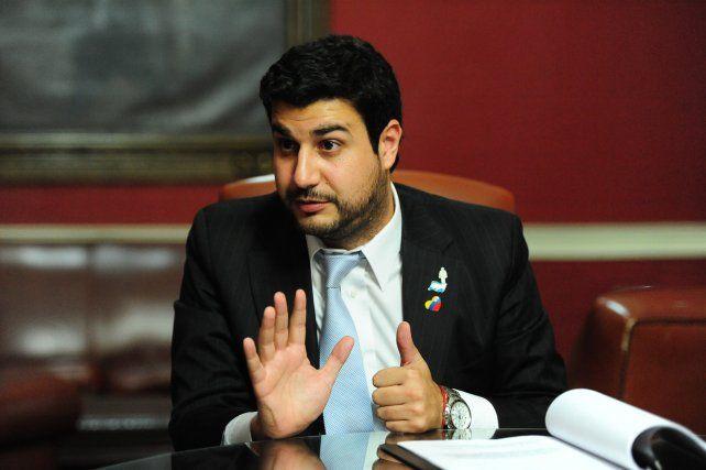 El diputado nacional Marcos Cleri.