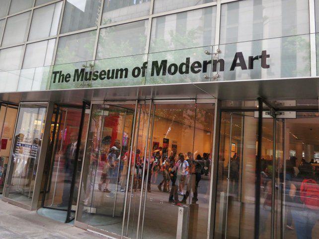 El Museo de Arte Moderno de Nueva York.
