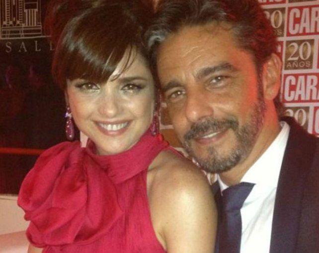 Trance difícil. Araceli y Fabián Mazzei se casaron en diciembre de 2013.