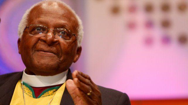 El premio Nobel Desmond Tutu.