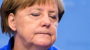 Debilitada. Los demócrata cristianos de Merkel no superarían el 17% de apoyo.
