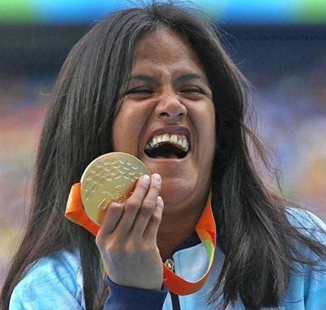 Merecido. Yanina Martínez llevará la bandera argentina en el cierre en Río.